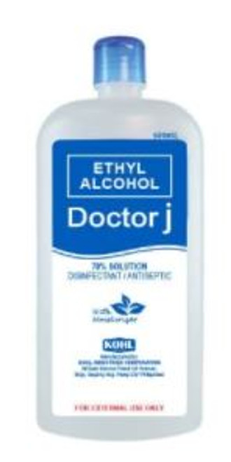 DOCTOR J 70% ETHYL ALCOHOL