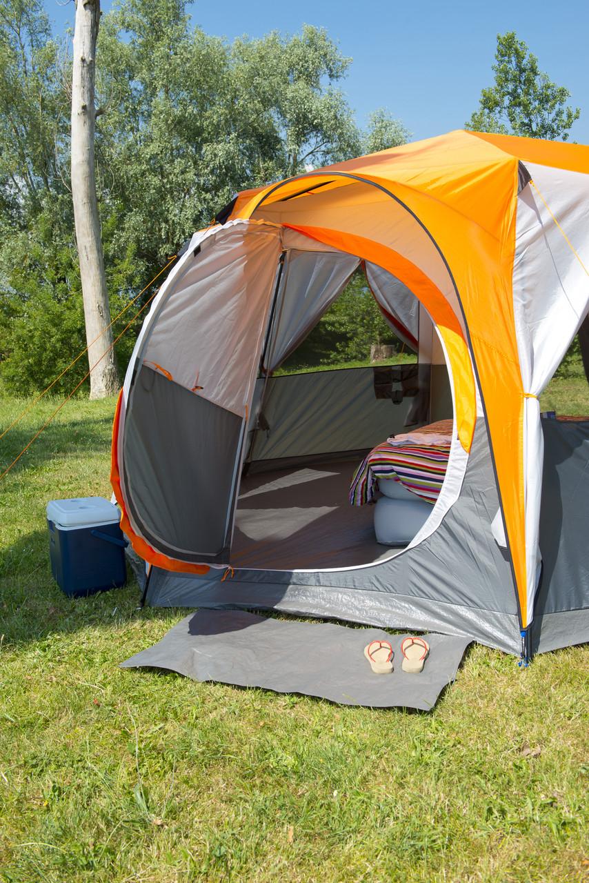 COLEMAN Cortes Octagon 8 2019,Award Winning 8 Man Camping,Glamping Tent-Orange