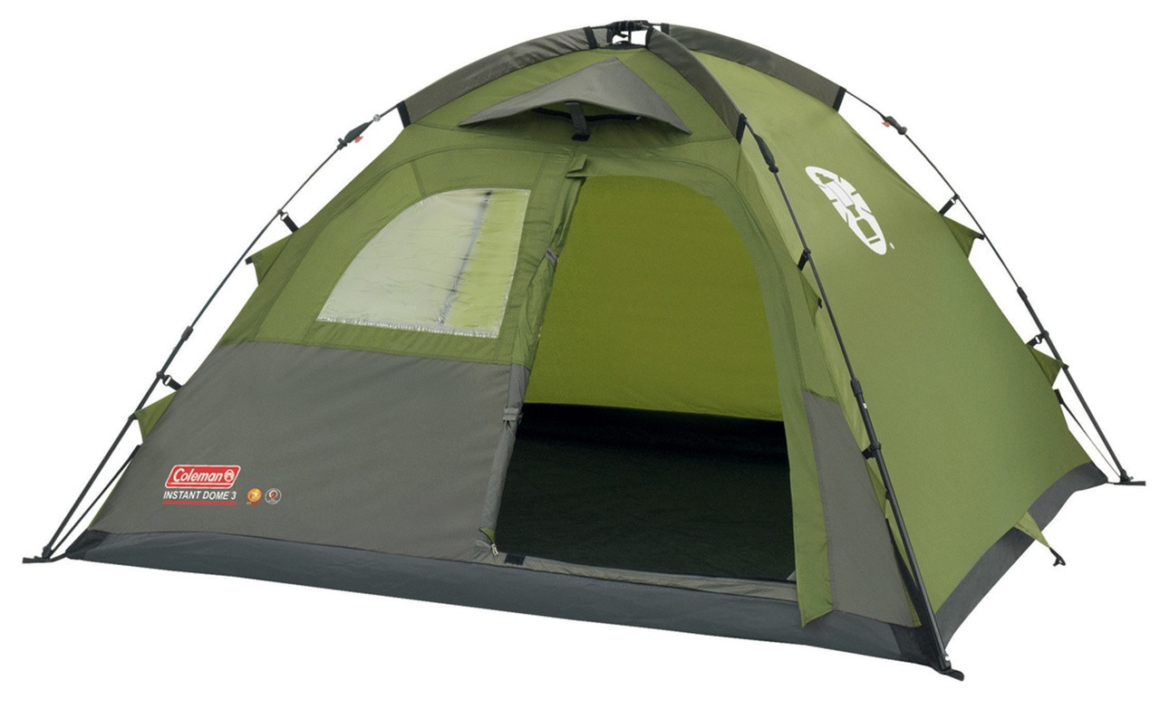 cheap for discount f251e 523b5 Coleman Instant Dome 3 Tent - 2018 Model