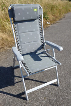 Via Mondo XL Flex Chair Grey