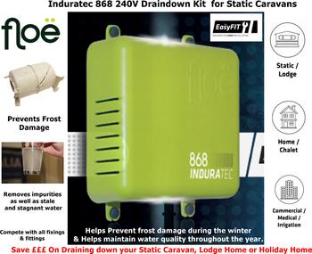 Floë Automated Induratec 868 240V Draindown Kit for Static Caravans