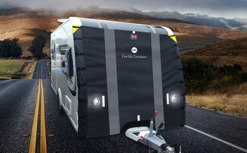 CPL Universal Caravan Front Towing Cover Pro - Breathable - Road Legal - Improved 2019 Model