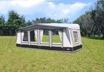 Camptech Atlantis DL - Seasonal Pitch Awning - FREE Storm Straps