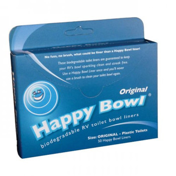 Happy Bowl Biodegradable Toilet Bowl Liners