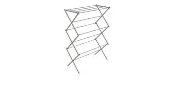 Via Mondo 3 Tier Expanding Steel Airer - NEW Compact folding Airer