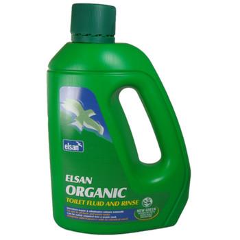 Elsan Organic Toilet Fluid & Rinse - 2L