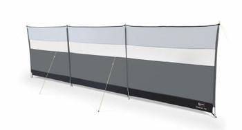 Kampa Windbreak 2021 Model - Fog Grey or Fern Green