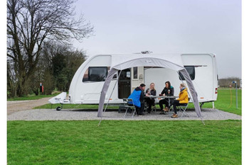 Vango AirBeam Sky Canopy for Caravan & Motorhomes 2.5M - NEW for 2020