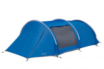 Vango Kibale 350 - Moroccan Blue - Extended Porch Tunnel tent.