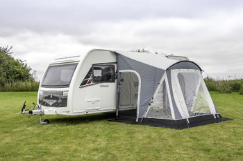 Sunncamp Swift Deluxe 220 SC - New for 2020 - FREE Rear Pad Poles
