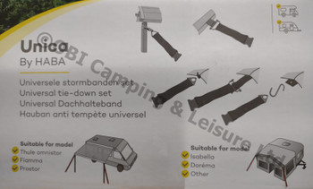 UNICA Universal Tie Down Kit - Wind Out Canopies & Awnings