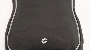 Outwell Oak Lux - Unique Hourglass shaped single sleeping bag