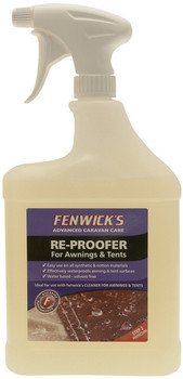 Reproofer for Awnings & Tents - A water based fabric sealer