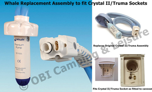 Whale Watermaster® with Easi-Squeeze™ Plug - Fits Carver/Truma Crystal 2 Sockets