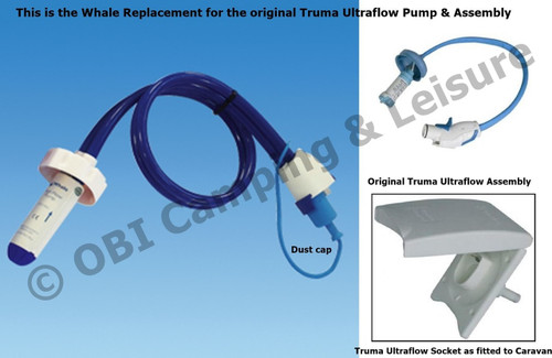Whale Watermaster® with Easi-Press™ Plug - Fits Truma Ultraflow Sockets