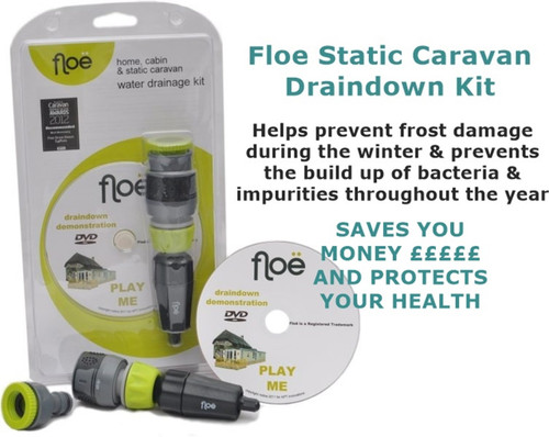 Floe Draindown Kit for Static Caravans