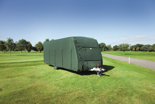 HTD Caravan Covers - Breathable Caravan Covers - FREE Heavy Duty Hitch Cover