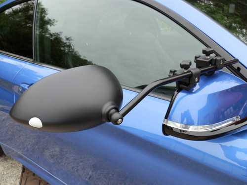 Milenco Aero3 Towing Mirrors (Flat or Convex Glass) - FREE Storage/Carry Bag