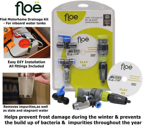 Floe Motorhome Draindown Kit - For inboard water tanks