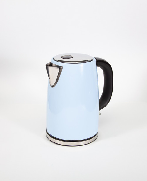 Boil-It 1.7 Litre Stainless Steel Cordless Low Wattage Kettle - Blue or Cream