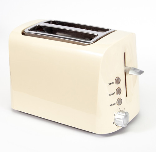 Toast it Stainless Steel Low Wattage Toaster - Blue or Cream