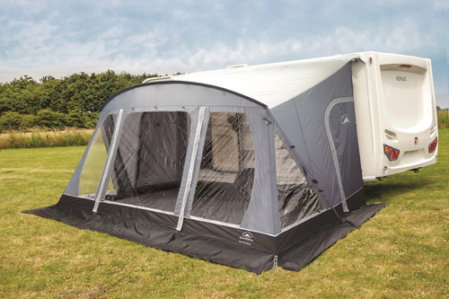Sunncamp Swift Deluxe 390 SC - New for 2020 - FREE Rear Pad Poles