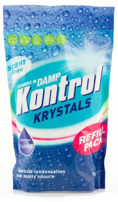 Kontrol Krystals Resealable Refill packs
