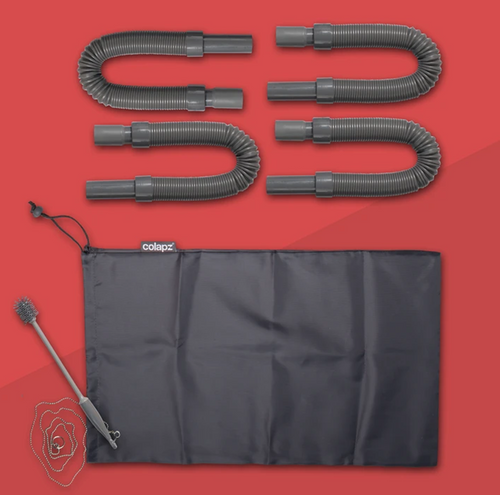 Flexi Waste Pipe Kit (4 pipes)