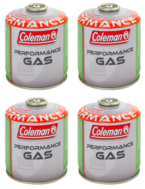 Coleman C500 Performance Gas Cartridge -Extra value 4 pack