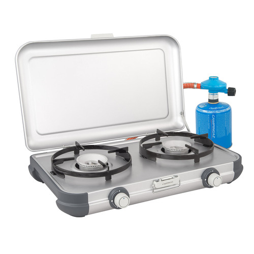 Campingaz Camping Kitchen® 2 CV PZ - New for 2021 - 4 FREE Gas Cartridges promotion