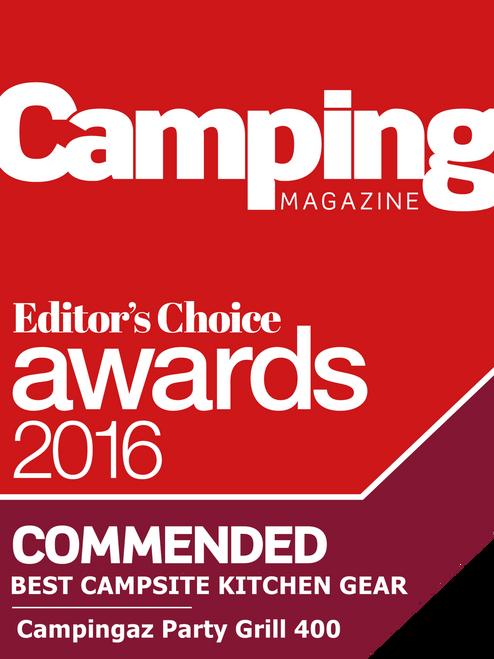 Campingaz Party Grill® 400 - 2019 model - FREE Campingaz Hose & Regulator Kit (RRP £16.99)