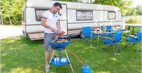 Campingaz Party Grill® 600 - 2019 Model -FREE Campingaz Hose & Regulator Kit (RRP £16.99)