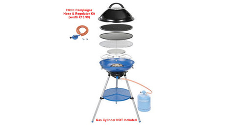 Campingaz Party Grill® 600 - 2020 Stock -FREE Empty Campingaz R907 & Hose & Regulator Kit