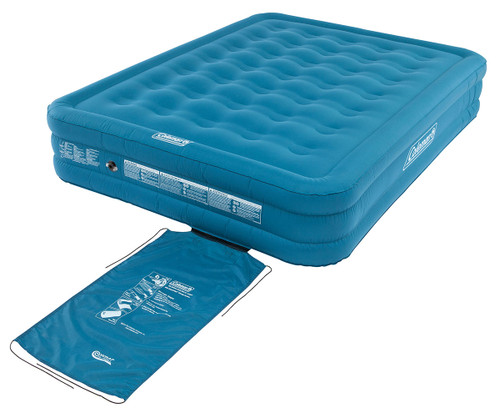 Coleman Extra Durable Airbed Raised  Double - 2020 Stock