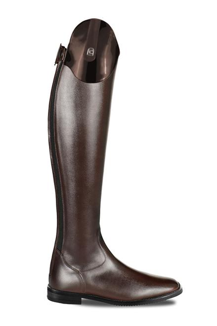 Cavallo Linus Lack Patent Mocca Dressage Tall Boot
