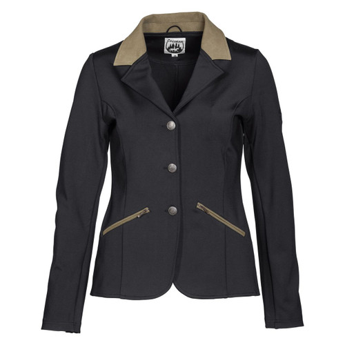 BF Exquisite McCrown Softshell Womens Competition Jacket Front