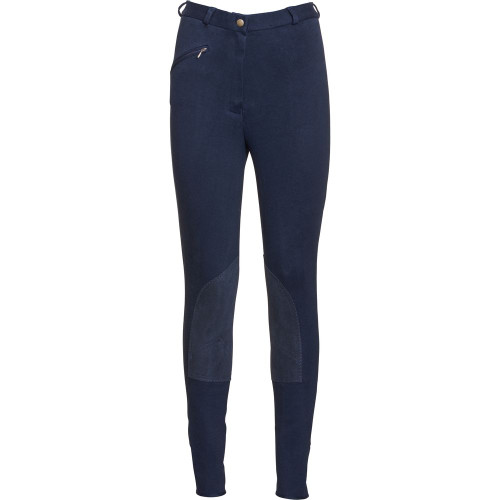 BF Comfort Breeches Marine Blue Front