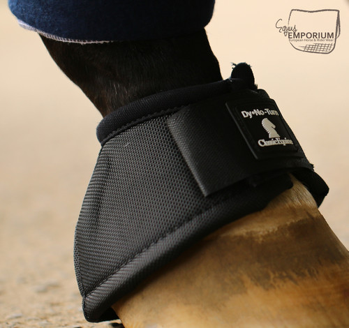 Classic Equine No Turn Bell Boot Black