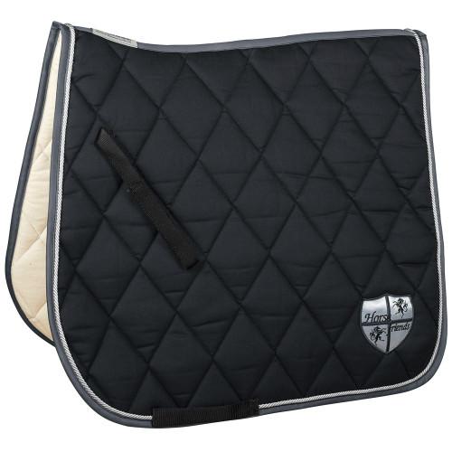 HF by Equest Black & Silver Saddle Blanket