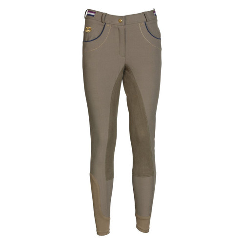 BF Exquisite Victoria Breeches Camel Front
