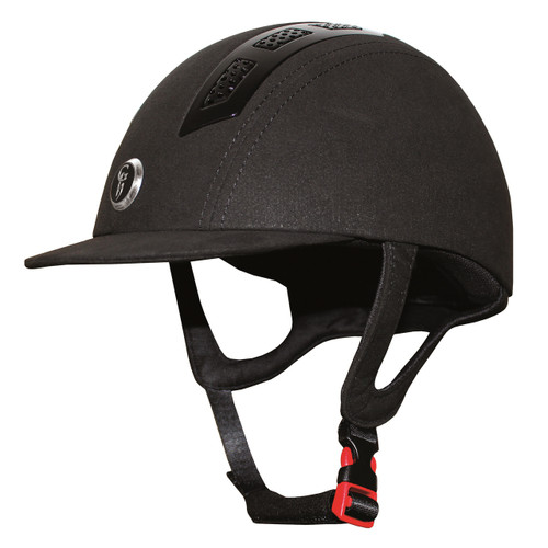 Gatehouse Chelsea Air Flow Pro Suedette Helmet Black