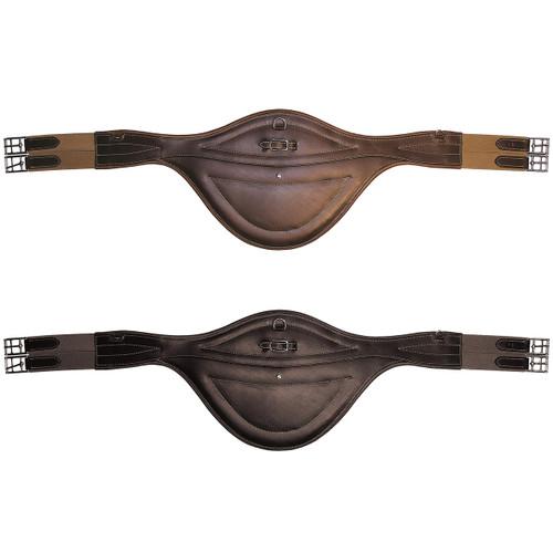 Mark Todd MT Leather Stud Girth Black & Brown