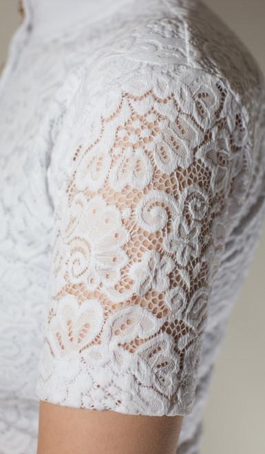 Valentine Equine White Shirt Detail