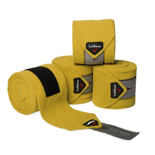LeMieux Polo Fleece Bandages Dijon