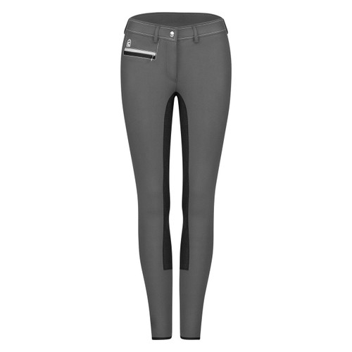 Cavallo Colette Micro Breeches Grey/Black Front