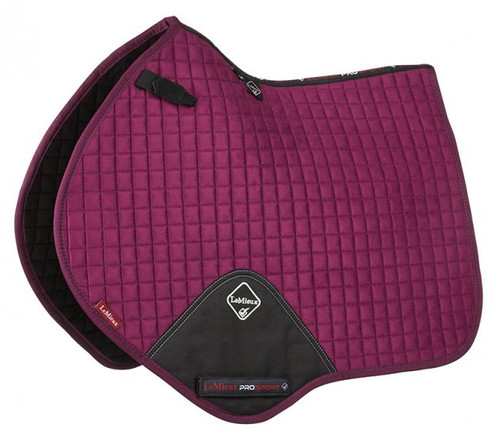 Le Mieux CC Saddle Blanket Plum