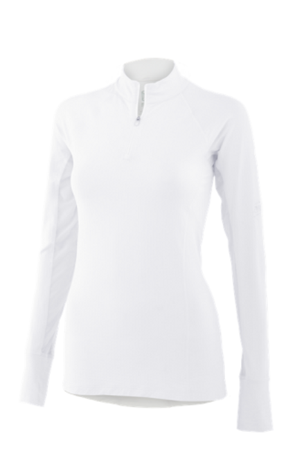 Noble Outfitters Ashley Performance Shirt White