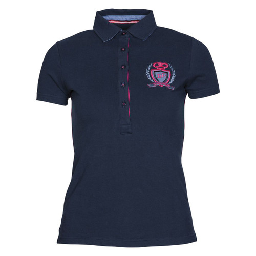 BF Ella Polo Shirt Navy & Pink