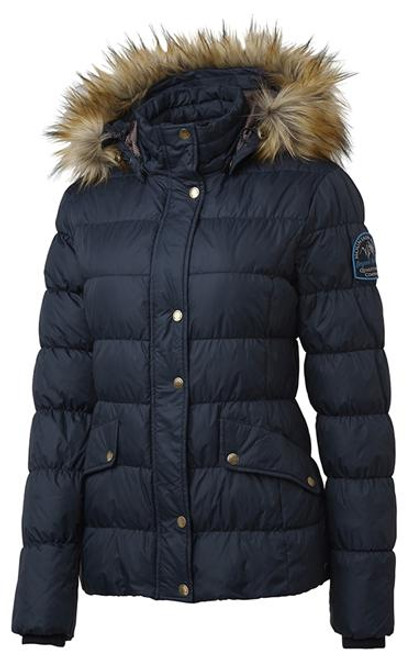 Mountain Horse Lauren Down Jacket Deep Blue