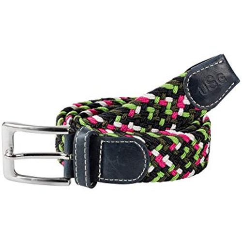 USG Casual Belt Green White Pink